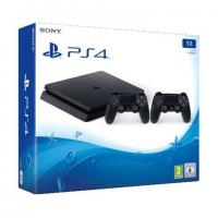 PlayStation-Sony PlayStation 4 Slim F chassis+, 1TB sa 2 Dualshock