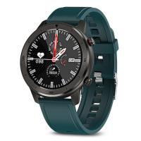 Pametni satovi i oprema - MOYE WATCH DT78 GREEN SILICONE STRAP-BLACK - Avalon ltd pljevlja