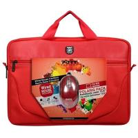 "Notebook - Oprema-Port designs 15,6"" Port Case Polaris RED + mouse"