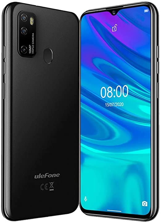 Mobilni telefoni i oprema - ULEFONE NOTE 9P 4/64GB BLACK  - Avalon ltd