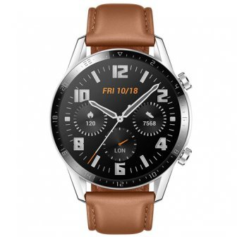 Pametni satovi i oprema - HUAWEI WATCH GT 2 CLASSIC 46mm LEATHER BROWN EU - Avalon ltd