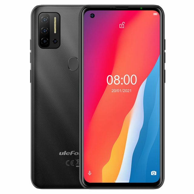 Mobilni telefoni i oprema - ULEFONE NOTE 11P 8/128GB BLACK - Avalon ltd