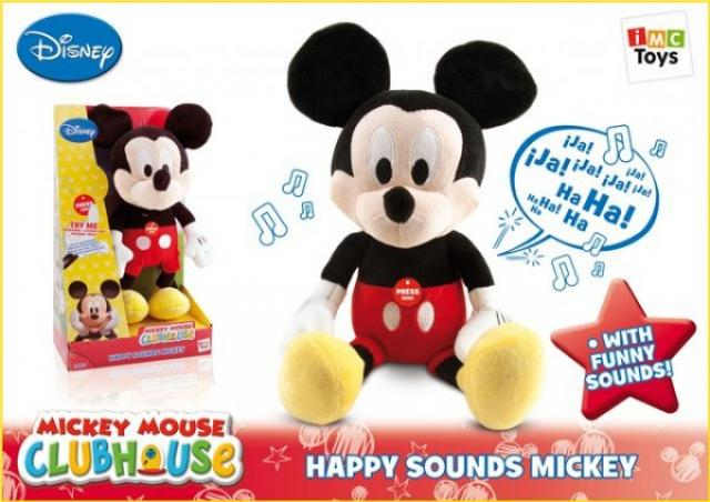 Igračke - Plišani Happy Sounds Mickey - Avalon ltd