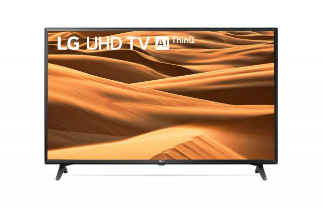 "Televizori i oprema - LG 49UM7050PLF LED TV 49"" ultra HD, webOS ThinQ AI smart TV, DVB-T2/C/S2, black, two pole - Avalon ltd"
