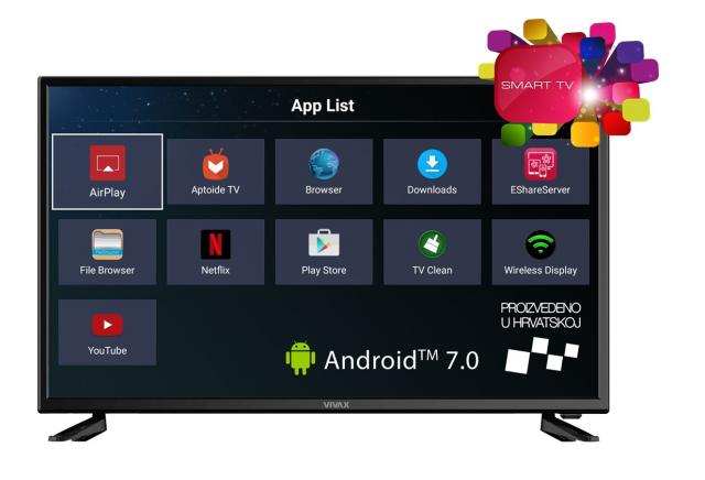 Televizori i oprema - Vivax LED TV-32LE78T2S2SM 32 SMART - Avalon ltd