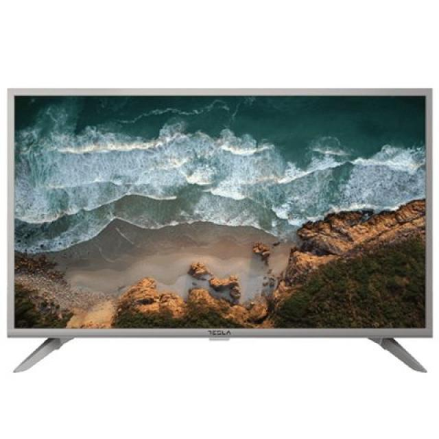 "Televizori i oprema - Tesla 32T319SH LED TV 32"" HD ready, slim DLED, DVB-T2/DVB-C/DVB-S2, Hotel mode, silver - Avalon ltd"