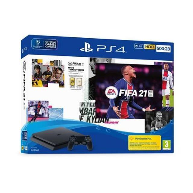 Gaming konzole i oprema - SONY PS4 500GB + FIFA 2021 + PS PI - Avalon ltd