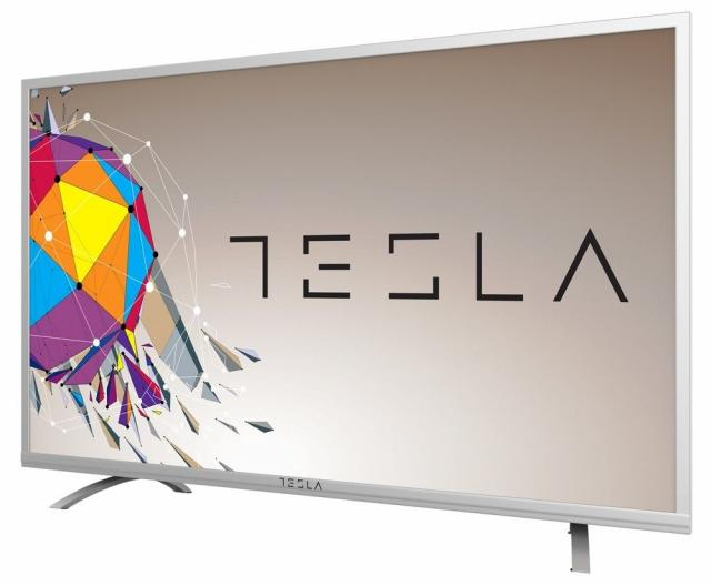 "Televizori i oprema - Tesla 58S356SF LED TV 58"" full HD, slim DLED, DVB-T2/DVB-C/DVB-S2, silver - Avalon ltd"