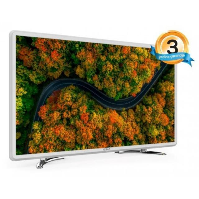 "Televizori i oprema - Tesla 24S307WH LED TV 24"" HD ready, slim DLED, DVB-T2/C/S2, white - Avalon ltd"