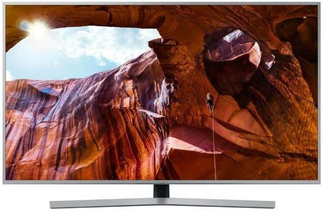 "Televizori i oprema - Samsung UE55RU7452UXXH LED TV 55"" ultra HD, Smart TV, HDR 10+, UHD processor, Bixby, silver - Avalon ltd"