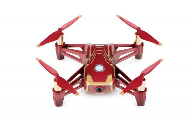 Dronovi i oprema - DJI Tello Iron Man Edition, 720p video, 5 MP Photo, 13-min Max. Flight Time, Image Stabilization - Avalon ltd