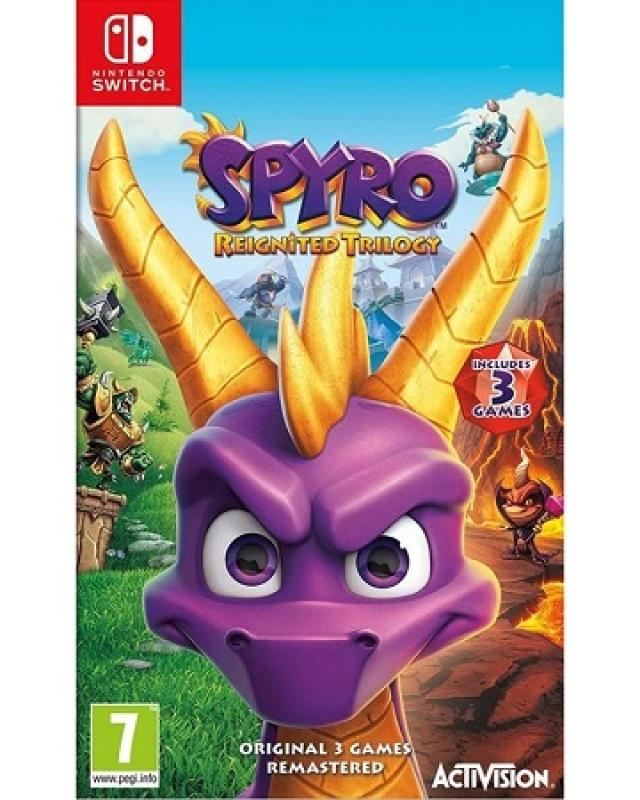 Gaming konzole i oprema - Switch Spyro: Reignited Trilogy - Avalon ltd