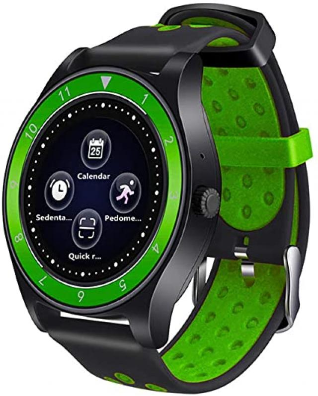 Pametni satovi i oprema - Bluetooth Smart Watch R10 (Q18) SIM Card, kamera, pedometer, zeleni - Avalon ltd